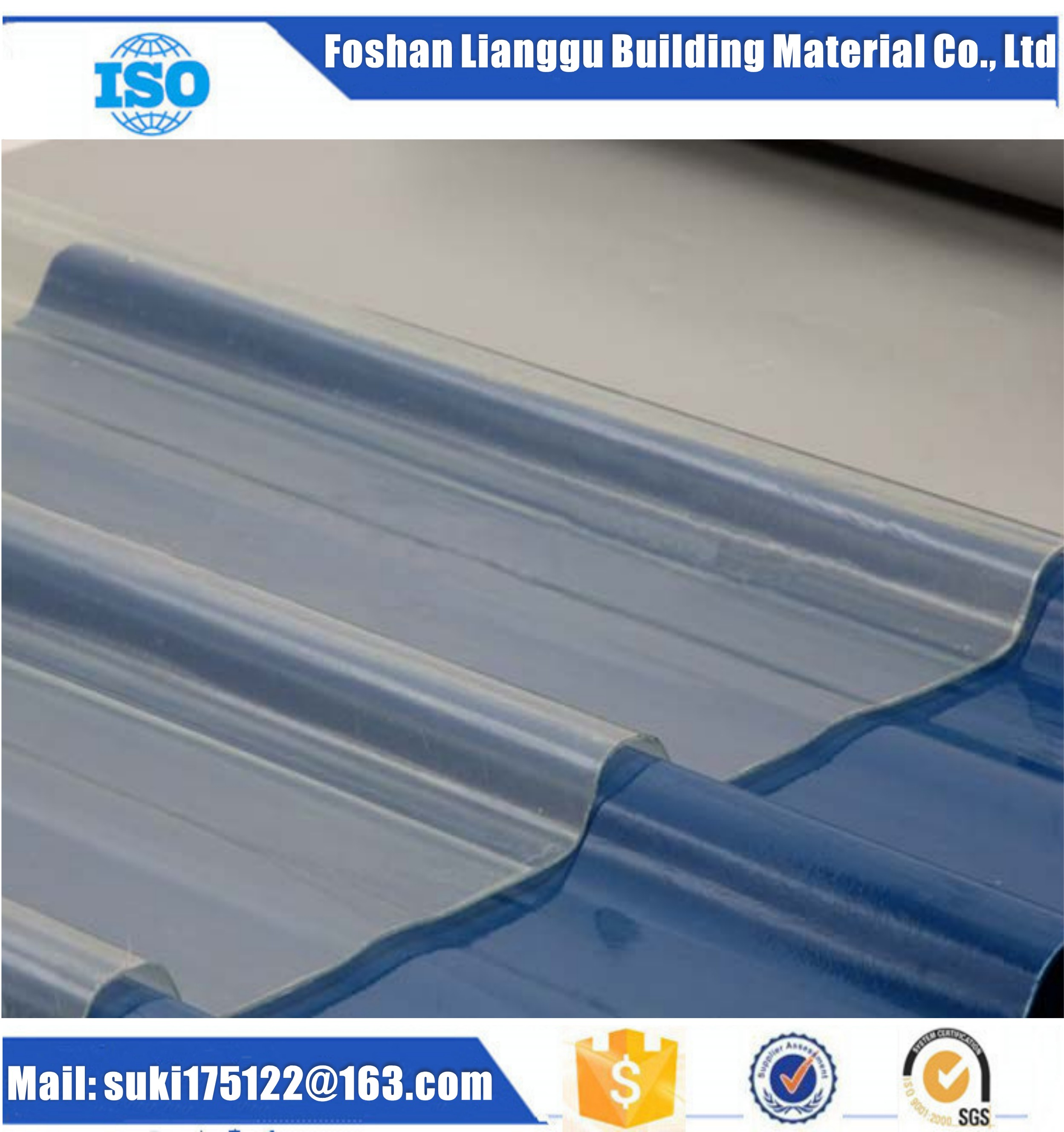 Anti-corrosive FRP Roofing Sheet