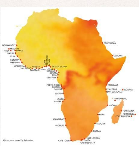 China to Equatorial Guinea:BATA sea transportation agent