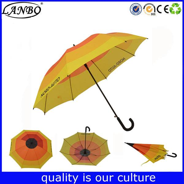 Factory price quality auto open big striaght straight umbrella for man