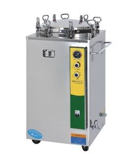 manual type vertical pressure steam sterilizer, vertical type disinfection machine