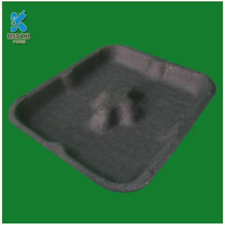 Eco-friendly molede pulp paper fruit packaging tray