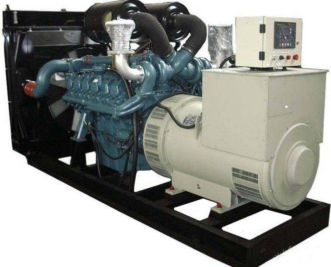 400KVA Electric Motor Generator Powered by Cummins NTA855-G7A Open/Soundproof Type