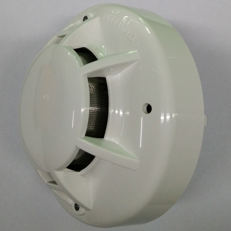 2-wire conventional photoelectric smoke alarm detector