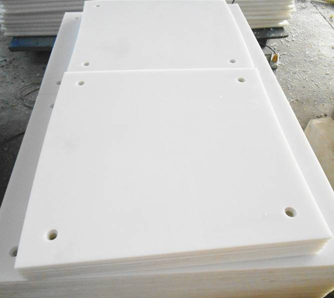 white uhmw PE1000 sheet for engineer plastic