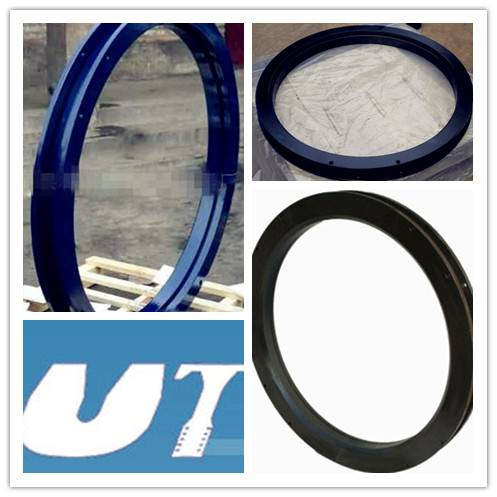 Semi-trailer slewing ring of trailer parts
