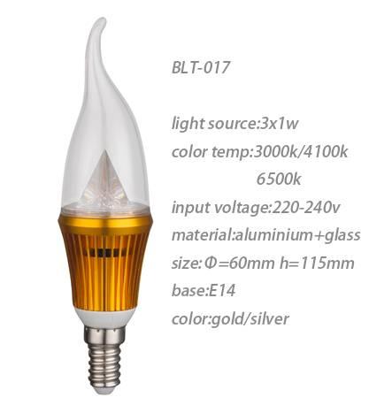 led candel bulb