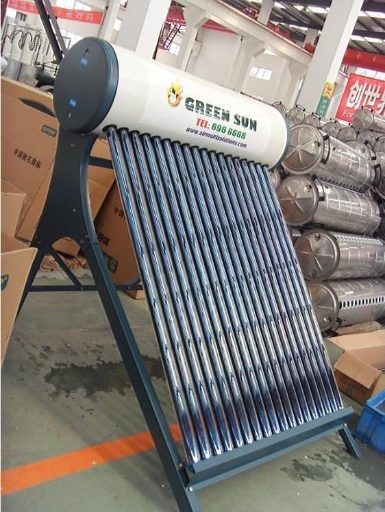 Vacuum Tubes Solar Water Heater