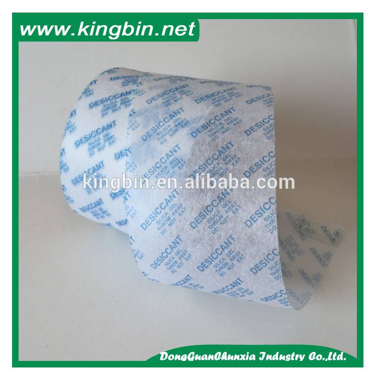 non woven paper for desiccant packing in roll