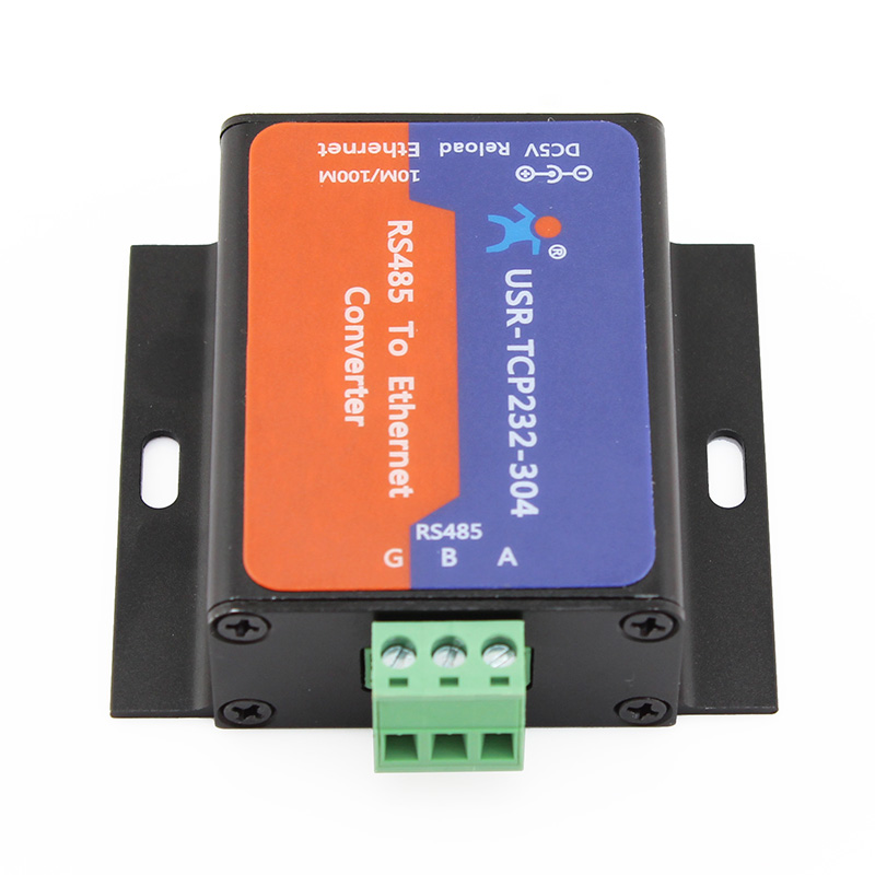 USR IoT Cost-Effective RS485 to Ethernet Converter with Built-in Webpage