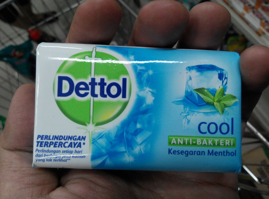 Dettol Organic Bar Soap