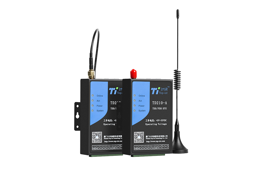 Wireless GPRS Industrial RTU support RS232/RS485 modem with I/O channels