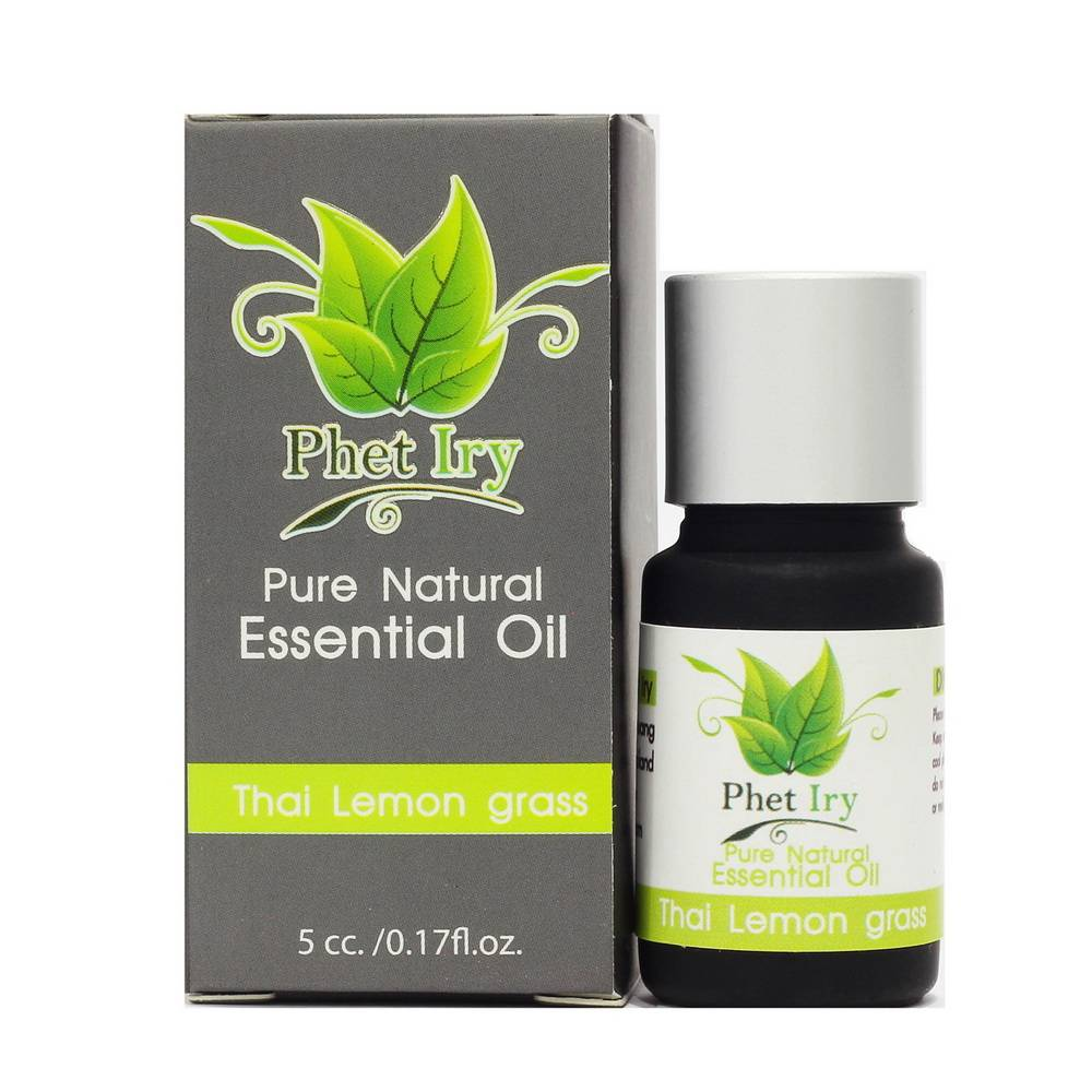 Pure, natural essential oil Thai Lemon grass