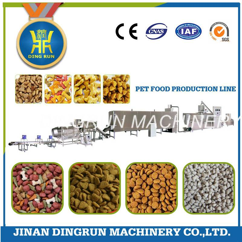 pet dog food production machine