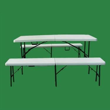 Hot selling White Plastic Dining Room Table and Chair set