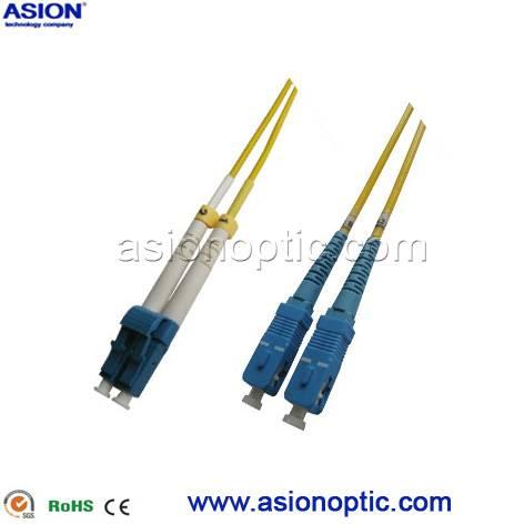 Multi mode duplex LC to SC  fiber optical cable