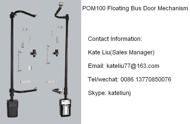 Floating Bus Door System And Bus Door Mechanism