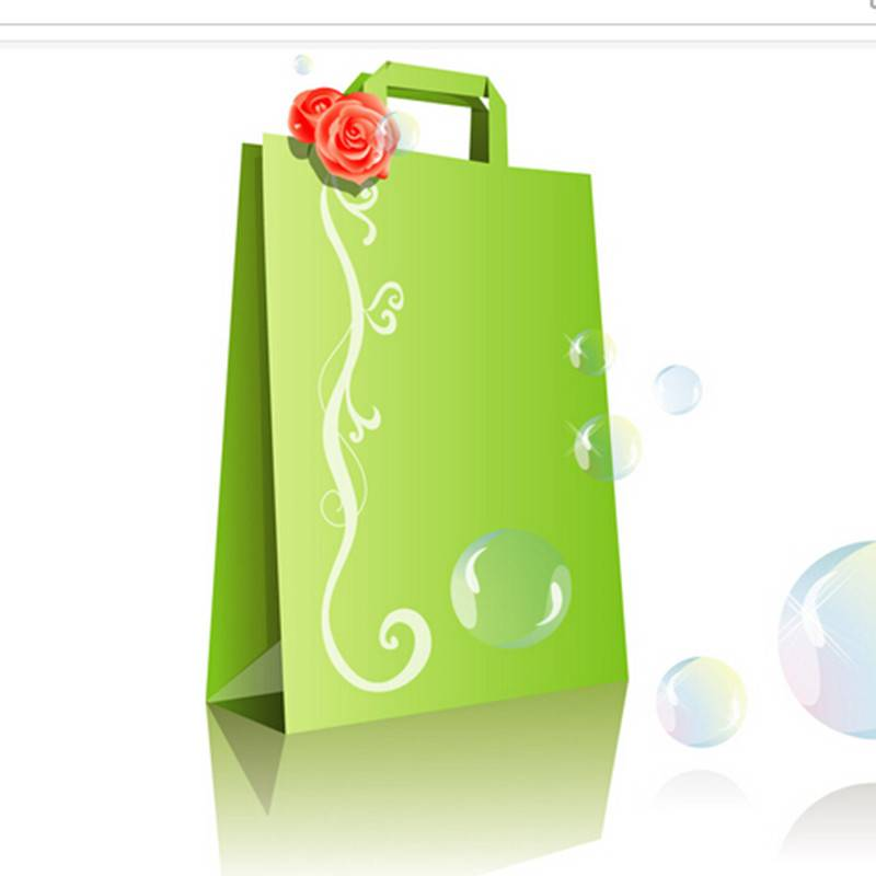 China factory supply high quality adversting paper bag