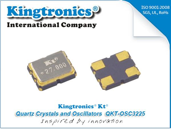 Kt Kingtronics Recommend Crystal Oscillator QKT-OSC3225