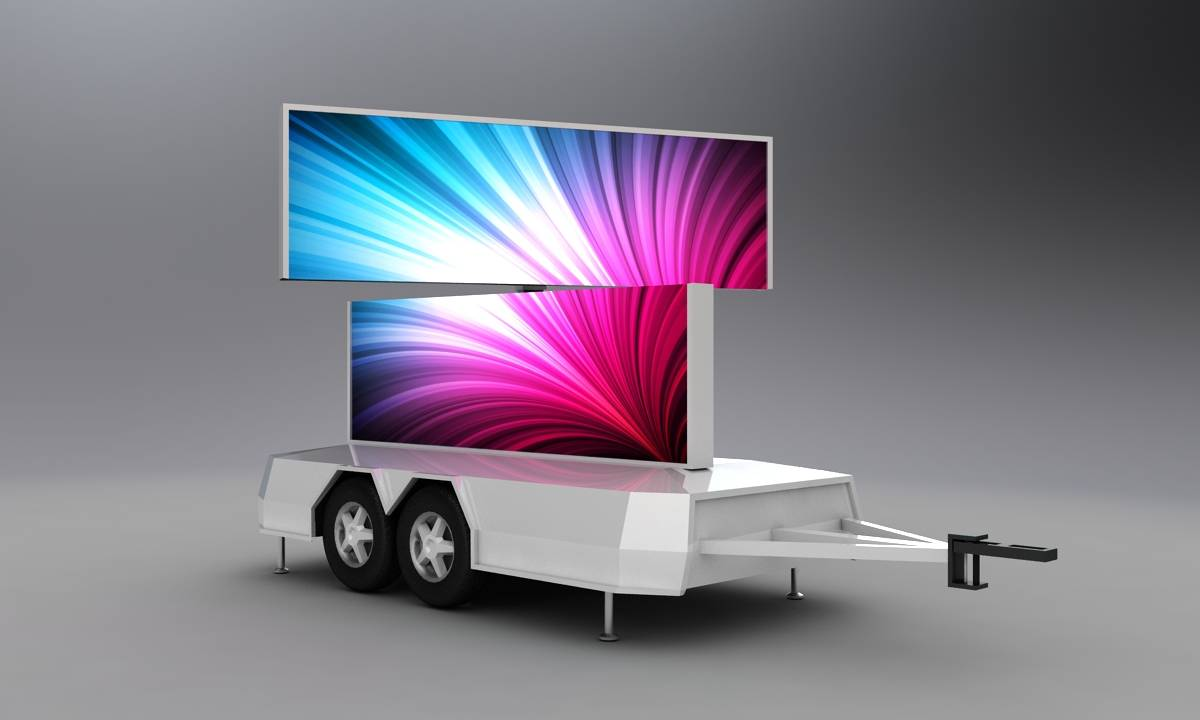 YEESO T9N LED Advertising Trailer, Ourdoor Advertising, Product Promotion, Movie Night, Outdoor Vide