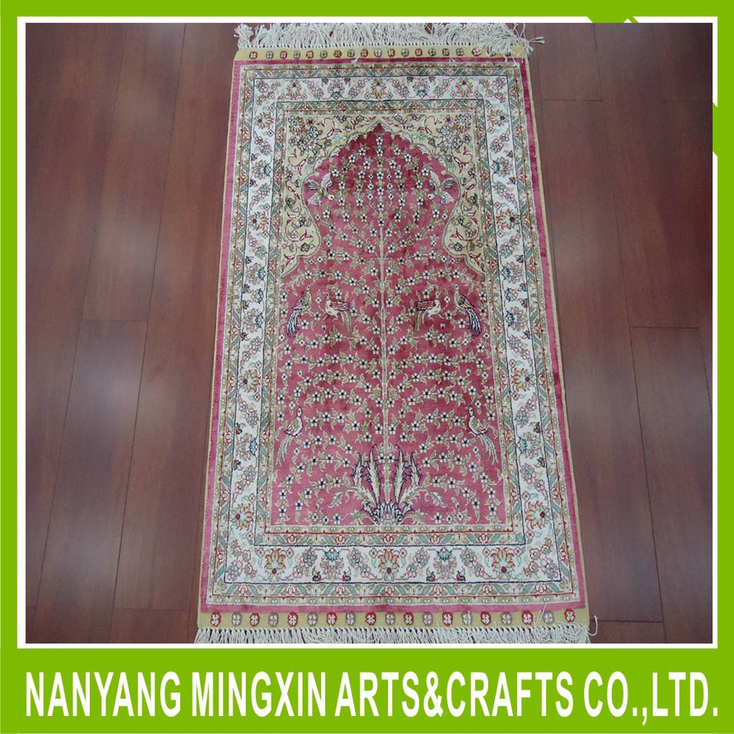 handknotted pure silk carpet persian silk area rugs