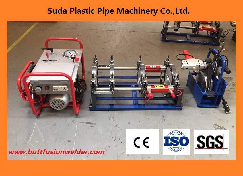 SUD160H hdpe pipe butt welding machine