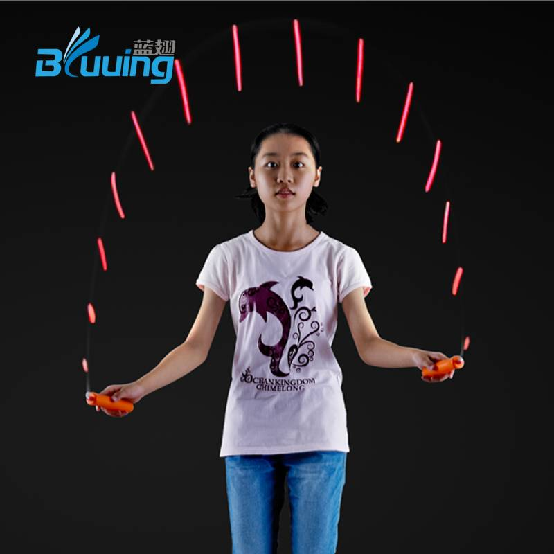 Dongguan new product sports gym fitness equipment promotion children toys speed-color change light u