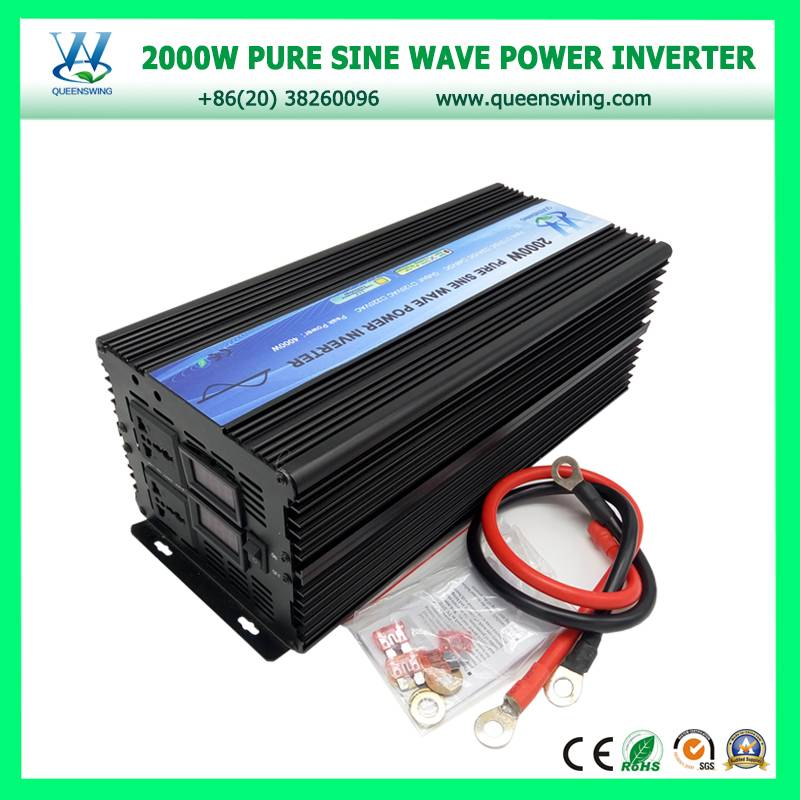 High Frequency 2000W Pure Sine Wave Solar Power Inverter (QW-P2000)