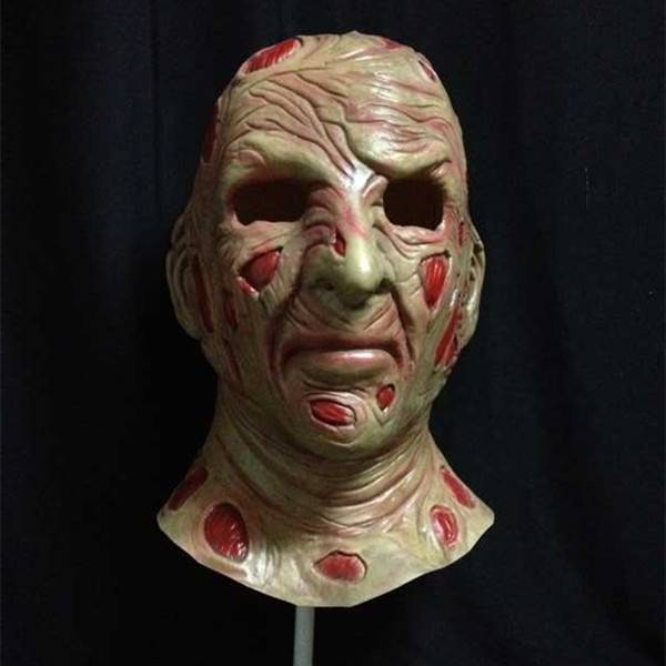 X-MERRY Freddy Mask Scary Latex Mask Halloween Mask