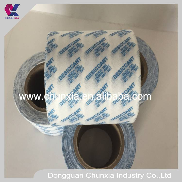 Desiccant wrapping non woven fabric