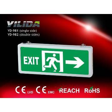 LED Emergency Lighting Exit Indicator Panel