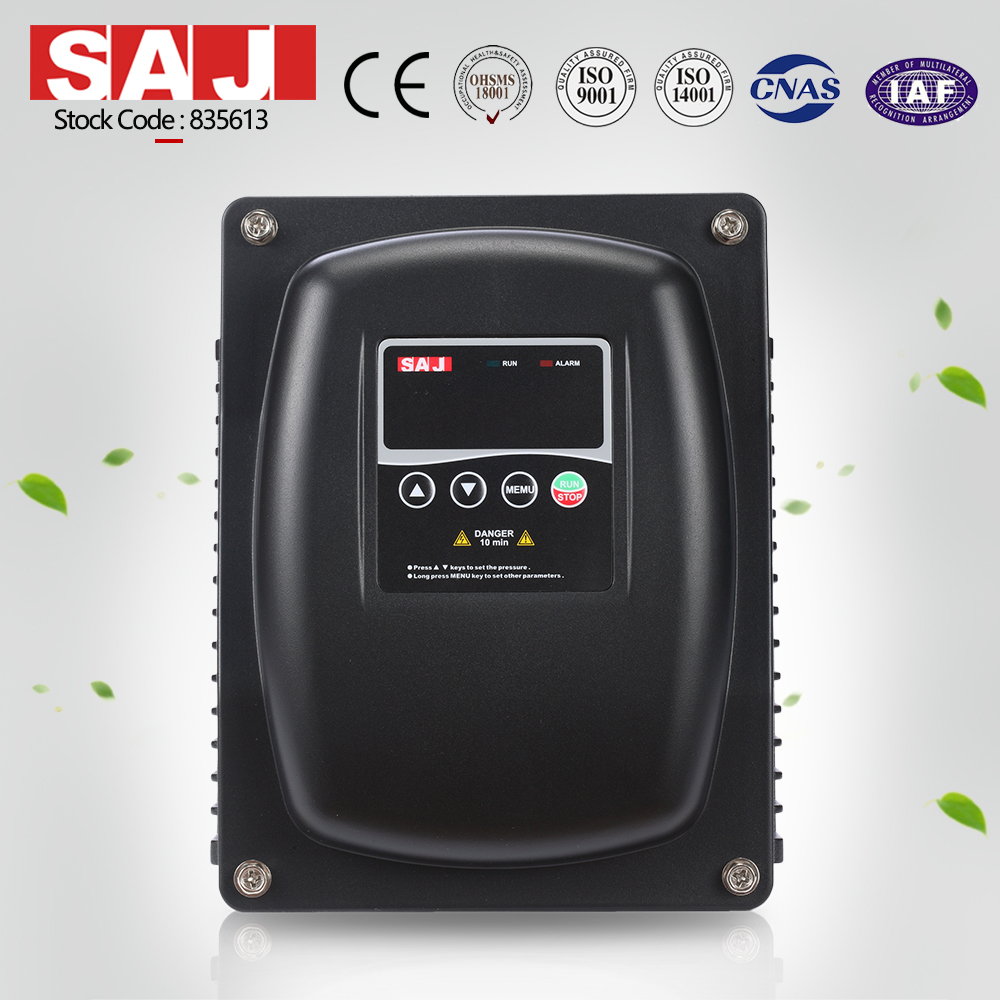SAJ 0.9KW 1.2HP AC Water Pump Drive for Water Pumping System