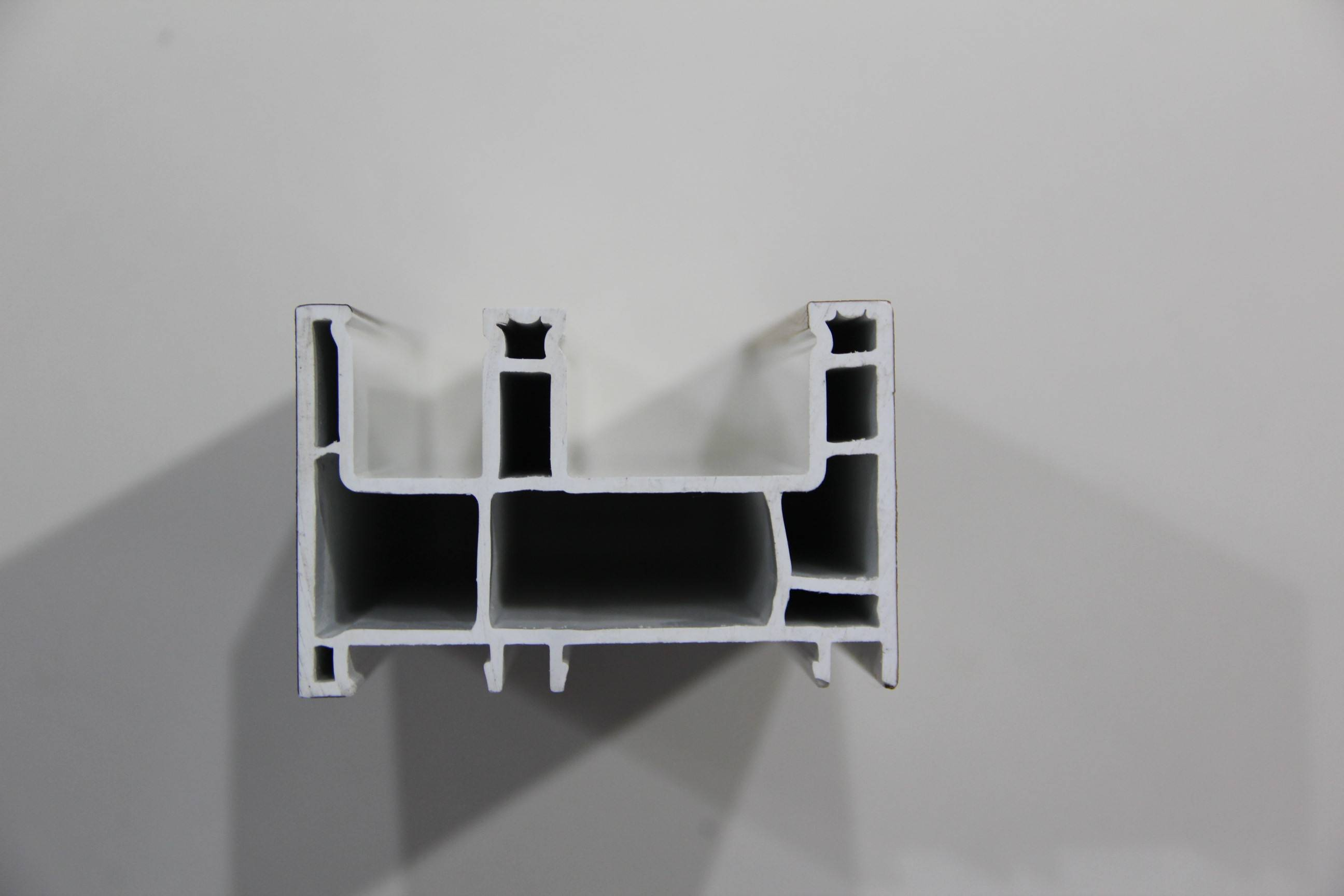 88mm 3 track sliding window profile plastic upvc profile