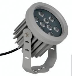 Round 12W 18W led shoot light high power outdoor flood lighting