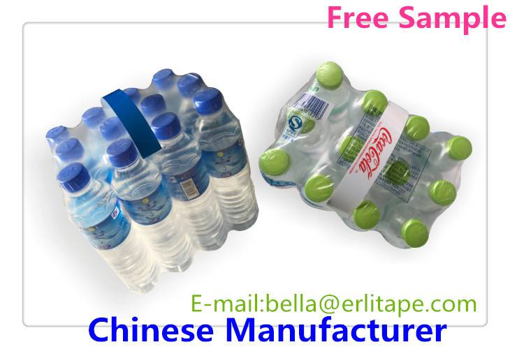 handle tape for multipacks mineral water
