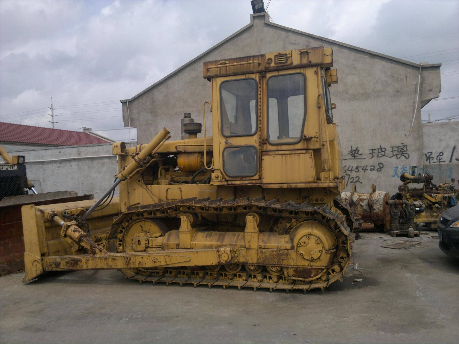 used caterpillar nice bulldozer D6D for sale/cheap cat bulldozer D6D