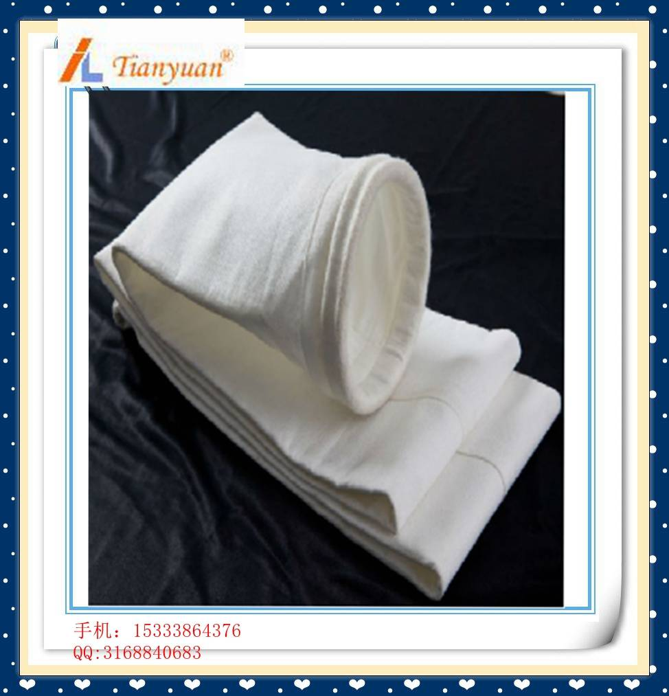 PTFE PPS felt dust filter bag for dust collection