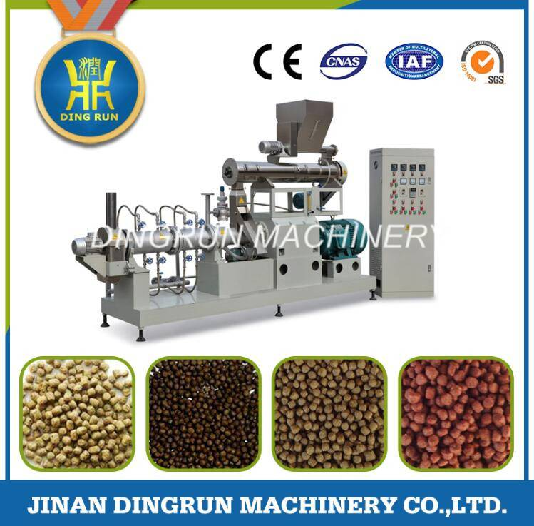 fish feed pellet production machinery