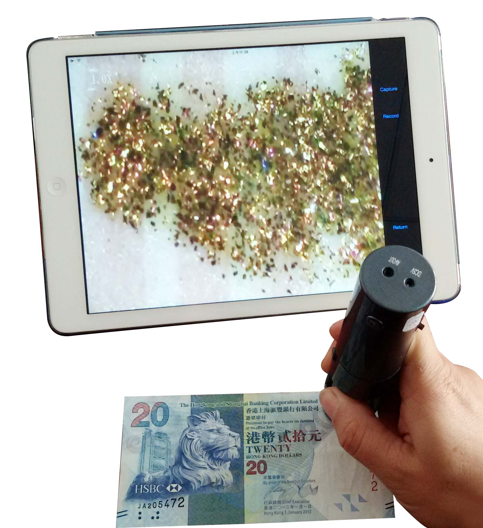 Wifi microscope, wireless microscope, digital microscope, wireless access phone Tablet PC