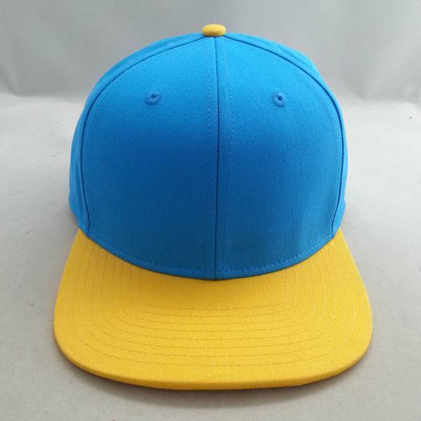 New fashion six panel blank snapback caps