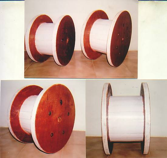 Plywood Cable Reels, Spools, Wooden Cable Drums