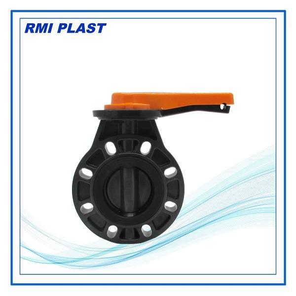 PVC butterfly valve DIN PN10,ANSI #150, JIS 10K