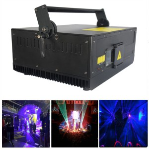 3W Cartoon 3D RGB Colorful Stage Laser Light
