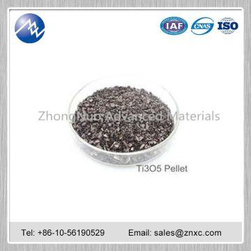 High purity titanium oxide (Ti3O5) pellet