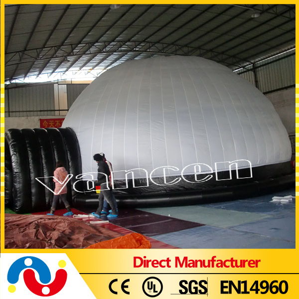 inflatable planetarium tent / inflatable projection dome tent for advertising