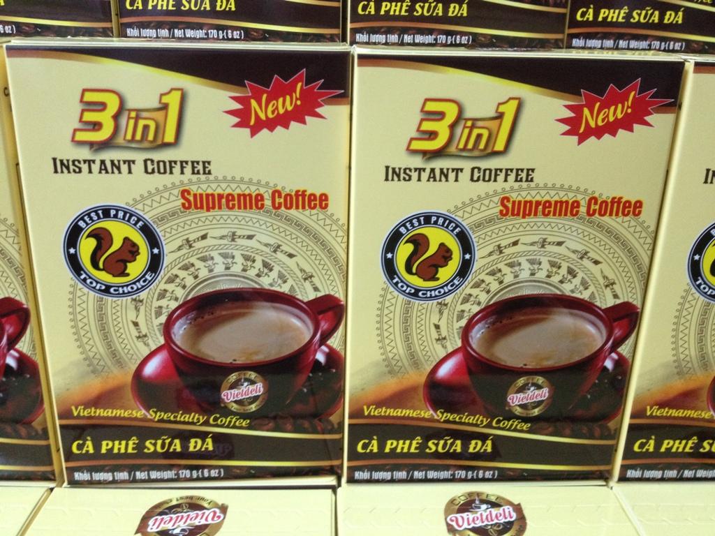 INSTANT COFFEE 3 in 1 - 17g/stick - Viet Deli Coffee