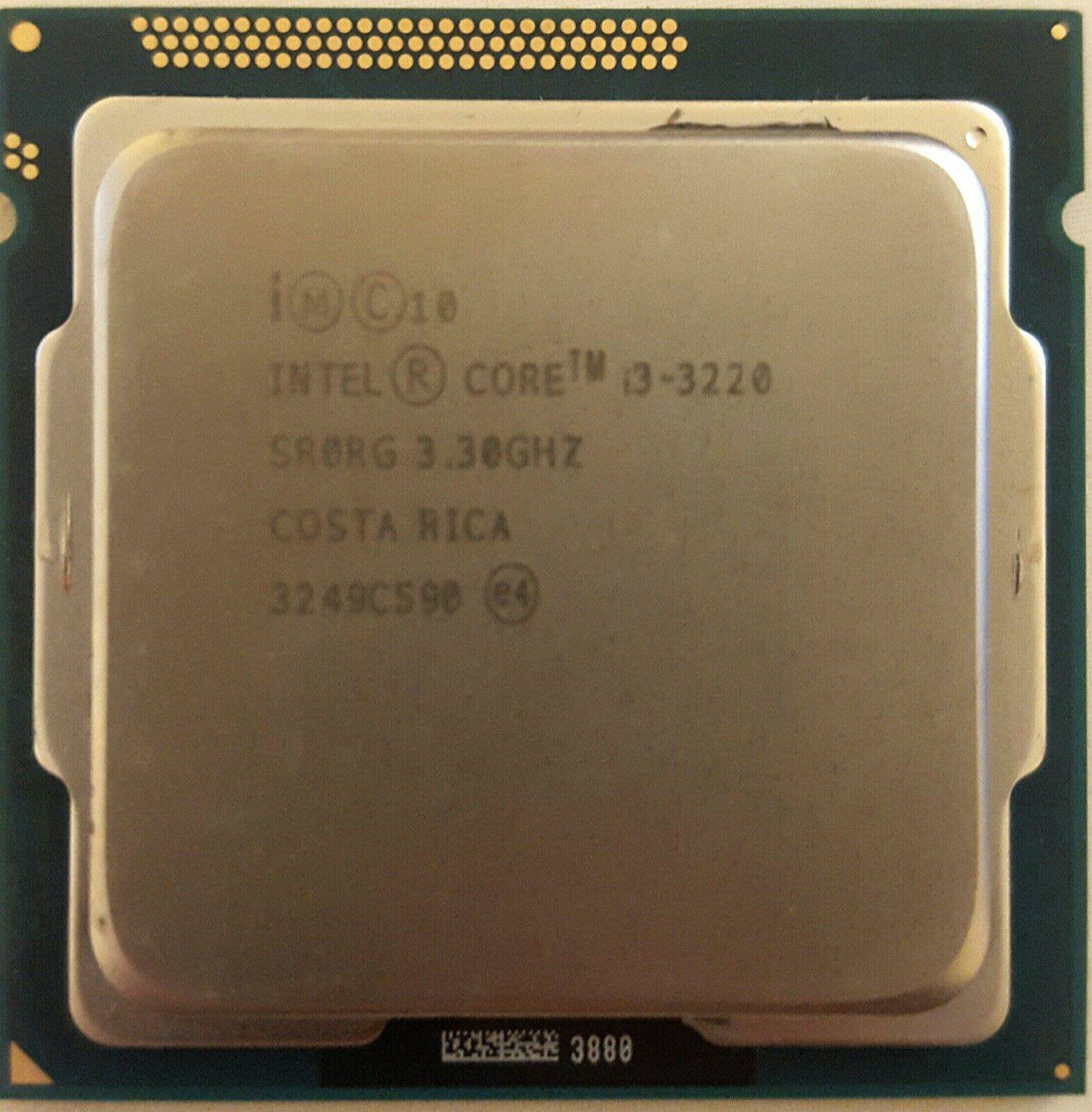 Intel® Core™ i3-3220 Processor CPU 3.30GHz 3Mb SR0RG for Desktop