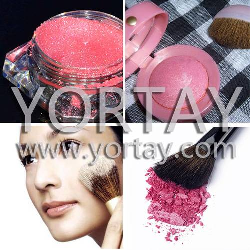 Use Cheek Brushed  Cosmetic Pigment Powder