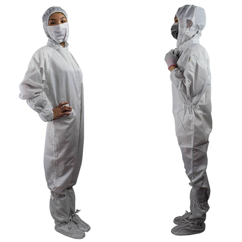 Dust Proof Exquisite Details High Quality Anti Static Coveralls