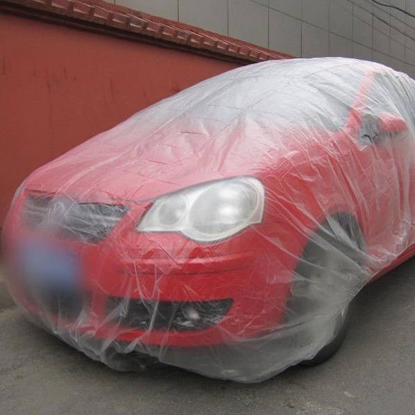 Disposable Plastic Car Cover