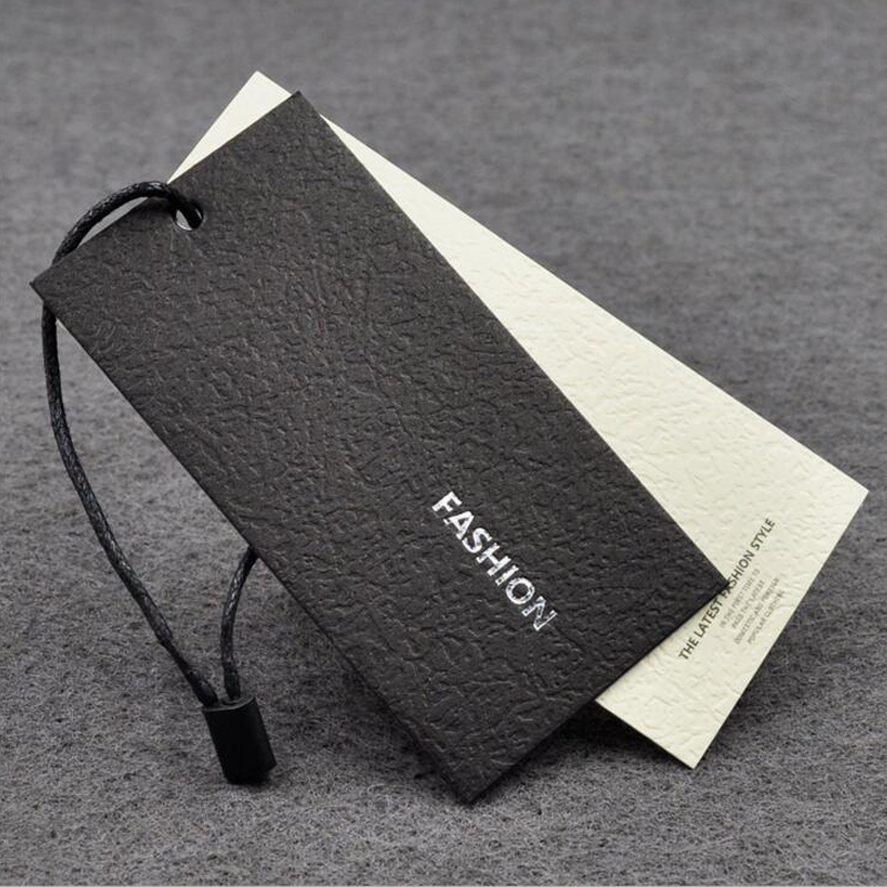 High Quality White Hang Tag for Garment Suit